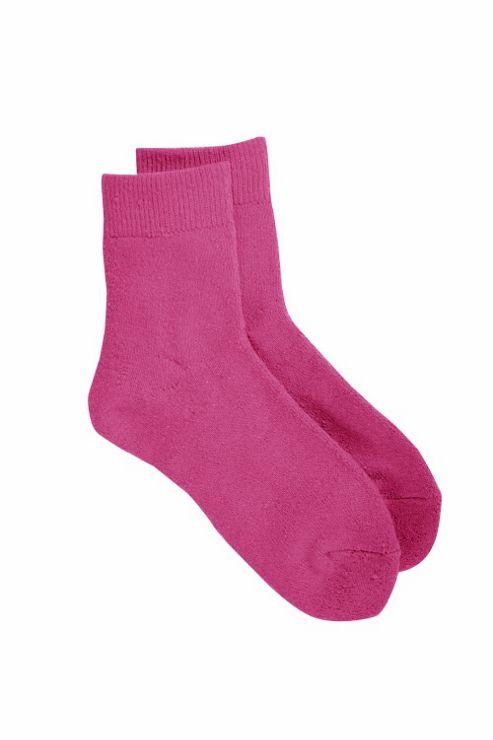 Kid's Outdoor Sock 3 Pack - Pink - 3/4