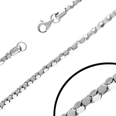 Urban Male Men's Necklace Stainless Steel Unusual Link 22in