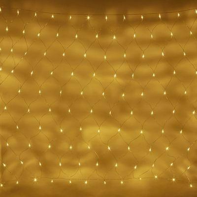 140 Warm White LED Battery 2m x 1.5m Net Light