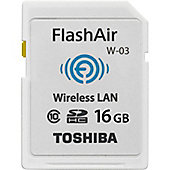 Toshiba FlashAir SD-F16AIR03(8 16 GB SDHC