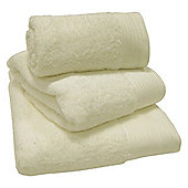 Luxury Egyptian Cotton Bath Sheet - Cream