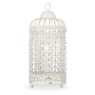 Buy Birdcage Table Lamp Cream From Our Table Desk Bedside Lamps