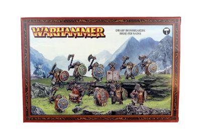 Warhammer Dwarf Irondrakes / Ironbreakers Model Kit