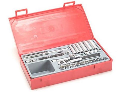 Teng Tt1435 35 Piece Socket Set 4-13mm - 1.4in Square Drive