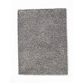 Home Essence Nordic Silver Cariboo Shag Rug - 150cm x 80cm (4 ft 11 in x 2 ft 7.5 in)