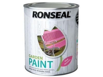 Ronseal RSLGPPJ250 250 ml Garden Paint - Pink Jasmine
