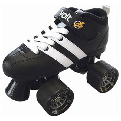 Riedell RW Volt Black/White Quad Roller Scooter