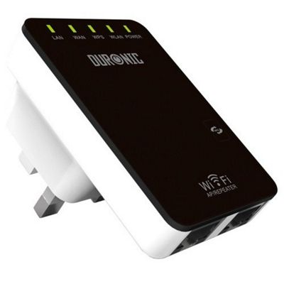 Duronic IR325N Wireless-N Wifi Repeater Access point / Wifi range extender