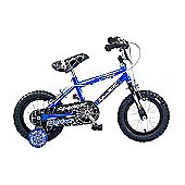"Concept Spider 12"" Kids' Bike, Blue/Black"