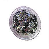 Stargazer Silver Glitter Stars