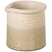 Parlane Small Ceramic Brown Kuray Planter / Plant Pot - 13.5 x 14.5 x 13.5cm
