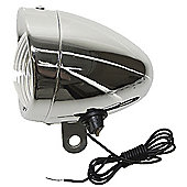 Retro 6V 2.4W Dynamo Chrome Cycle Headlamp