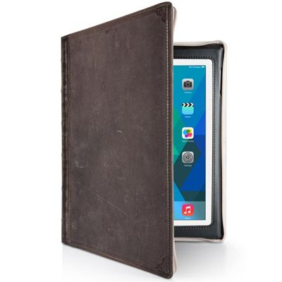 TwelveSouth BookBook Folio Black Brown for iPad mini 4