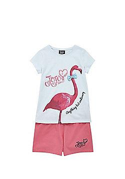 Nickelodeon JoJo Siwa Flamingo T-Shirt and Shorts Set - Multi