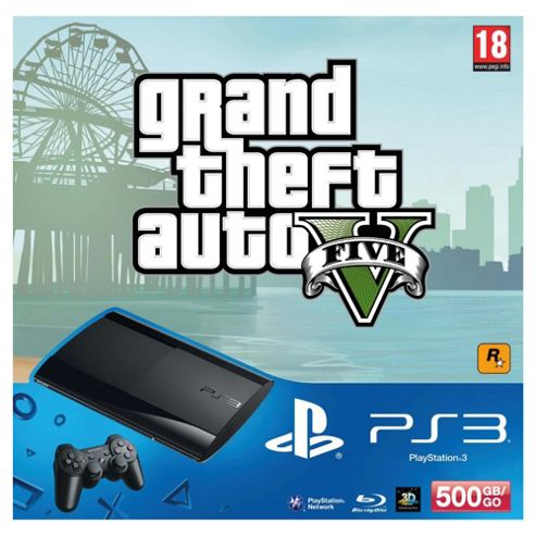 GTA V PS3 Hardware Bundle