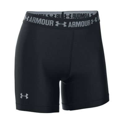 Under Armour HeatGear Armour Middy Womens Short Black - UK 6-8