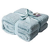 Duck Egg Cloud Fleece Throw
