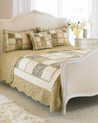 Riva Home Avignon Bed Spread - Beige