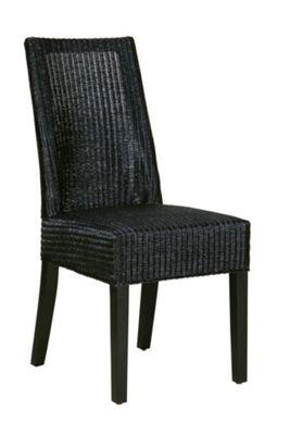 Lloyd Loom Monaco Dining Chair Black