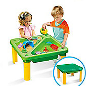 Homcom 19pcs Sand Box Set Play Game Garden Beach Children Water 2 Basin