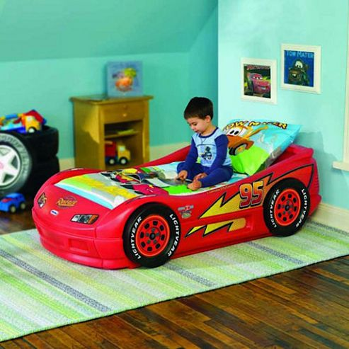Little Tikes Cars Lightning McQueen Roadster Toddler Bed