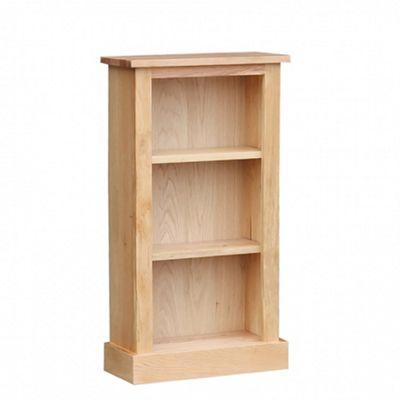 Stratton Oak Small Bookcase
