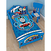 Thomas & Friends Patch Junior Toddler Bed - Deluxe Mattress