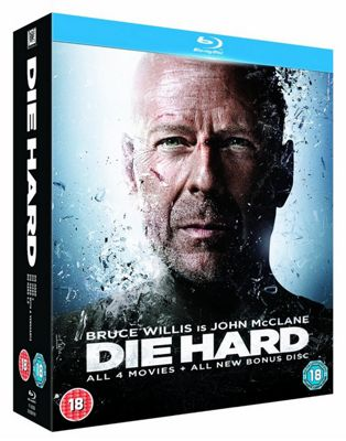 Die Hard Quadrilogy (Blu-Ray Boxset)