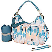 OiOi Hobo Nappy Change Bag - Morgan Two Pocket Slouch (7001)