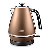 De'Longhi Distinta 1.7L Jug Kettle - Copper