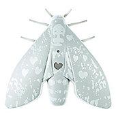 Jalo Scandinavian Design Lento Moth Smoke Alarm in Grey
