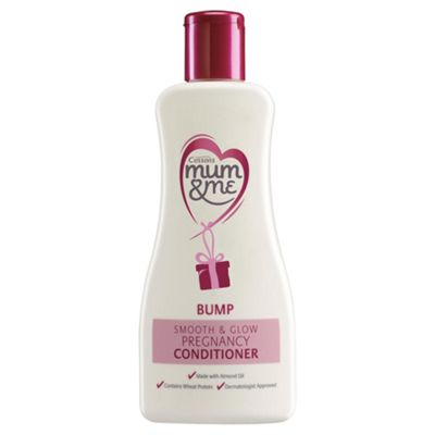 Mum & Me Bump Smooth & Glow 300ml Pregnancy Conditioner