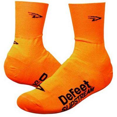 Defeet Slipstream Hi-Vis Sock Neon Orange Size: L