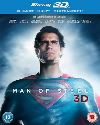 SUPERMAN: MAN OF STEEL 3D BD