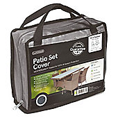 Gardman 4-6 Seater Rectangular Patio Set Cover- Grey