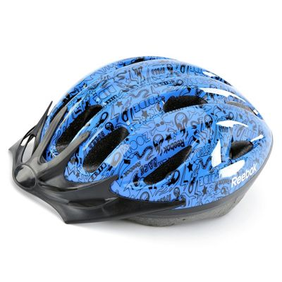 Reebok Junior Cycling Helmet  Blue