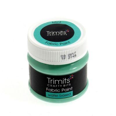 Trimits Fabric Paint Mint 50ml
