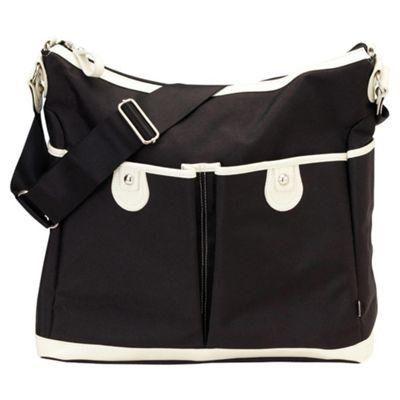 OiOi Changing Bag, Black/White