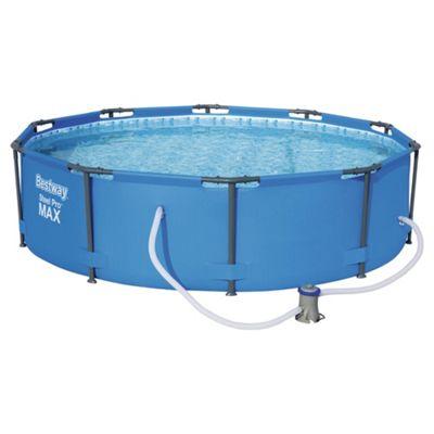 Bestway 10ft Steel Pro™ Max Frame Pool Set (4,678L)
