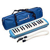 Rocket 32 Key Plastic Melodica - Blue