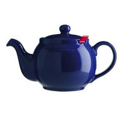 4 Cup Chatsford Blue Teapot with red filter