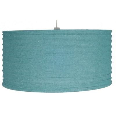 50cm Smoke Blue Jute Easy Fit Pendant