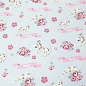 Disney 101 Dalmatians Personalised Mother's Day Gift Wrap & Tag Set
