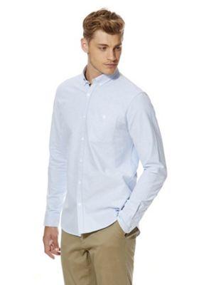 F&F Twill Oxford Shirt XXL Blue