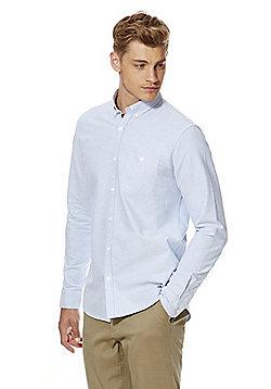 F&F Long Sleeve Oxford Shirt - Blue