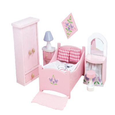 Le Toy Van Dolls House Bedroom Set