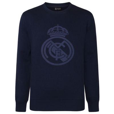 Real Madrid Boys Sweatshirt Navy 6 Years