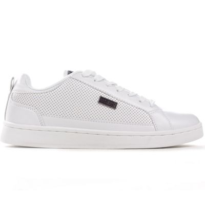 Henleys Project Drexel Cupsole Mens Fashion Casual Trainers Shoe White - UK 7