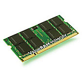 Kingston 2gb 667mhz Laptop Memory Kvr667d2s5/2g