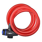 Roxter Cable Lock 1.8m x 12mm Red